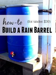 Before we start Id like to thank The Rain Barrel Depot for sending me two of these kits! Gene has been so helpful and has answered every question I had and even tried to help me find some free barrels! Dont miss the giveaway at the bottom of this post! Rain water collection and water…