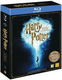 Harry Potter: Den komplette samlingen (8 disc) (Blu-ray)