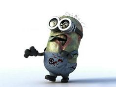 The Walking Dead Minion would me and my daughter love to get one of these