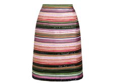 Fancy dressing like a Christmas bauble? (A stylish one, of course) - Jigsaw skirt, via The Women's Room