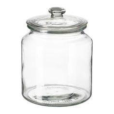 IKEA VARDAGEN jar with lid