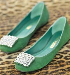 WOW, such whimsical shoes, I do kind of love them, such a wow factor and flats to boot!