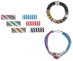 Inspirez-vous de nos nouvelles cordes tressées pour créer de jolis bracelets et colliers et être au top de la tendance de l'été. A partir de 6,00€ >>> http://www.perlesandco.com/Corde_tressee_10_mm-c-139_2924_2580_2460.html