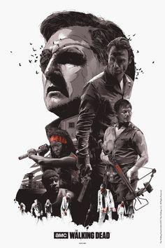The Walking Dead ill