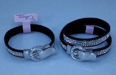 Belt wrap around bracelets : available in 2 styles : Cellucci Jewellery collection ♡♡