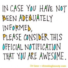 Quote: You are Amazing - MJ Schrader You deserve the absolute best in Life, you are an amazing, unique You are amazing Quotes ~ Most Amazing Inspirational Favorite Quotes, Best Quotes, Life Quotes, Friend Quotes, Daily Quotes, Funny Quotes, Positive Quotes, Motivational Quotes, Inspirational Quotes