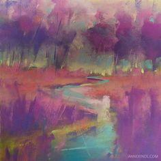 Meditation No.27 by Anne Kindl | original pastel | SOLD