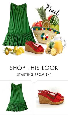 """""""Untitled #3405"""" by julinka111 ❤ liked on Polyvore featuring Madame A Paris, FRUIT, Kate Spade and Muzungu Sisters"""