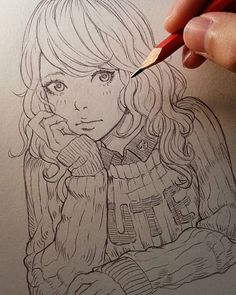 Marvelous Learn To Draw Manga Ideas. Exquisite Learn To Draw Manga Ideas. Anime Drawings Sketches, Anime Sketch, Manga Drawing, Manga Art, Cute Drawings, Pencil Drawings, Anime Art, Character Art, Character Design