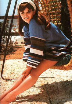 Claudia Cardinale, Malibu,1967