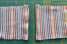 Hemming Knits - Ways to Avoid Puckering.  Pressing, double needle and use a walking foot.
