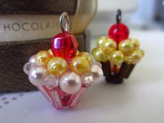 My Daily Bead: How to make a cupcake with beads tutorial!! #jewelryinspiration #cousincorp