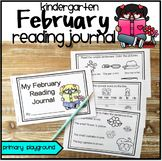 Kindergarten ELA February Reading Journal
