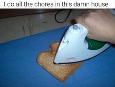 I Do All The Chores In This Damn House