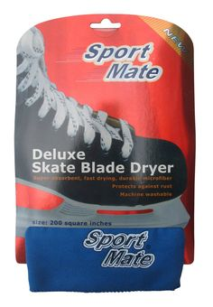 A/&R Ice Hockey Blade Jacket Cover Terry Cloth Soaker Guard Durable Navy Large