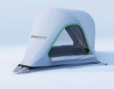 """Check out new work on my @Behance portfolio: """"Lighweight one-person backpacking tent"""" http://on.be.net/1MWOn28"""