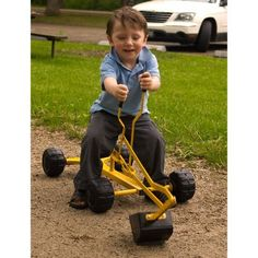 WonkaWoo Toys Metal Dig & Swivel Sand Digger Riding Toy $57.90 (36% OFF)