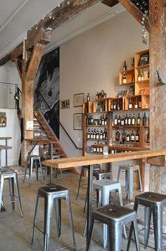 Terroir Wine Bar in SOMA, San Francisco // via Spotted SF