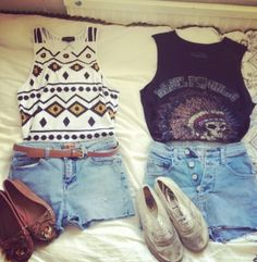 Hipster outfits.