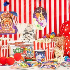 Zirkus Box inkl. Mottokarten