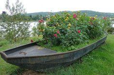 boat planter