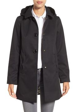 kate spade new york water resistant mac jacket available at #Nordstrom