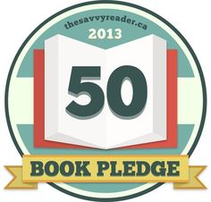 Help us make reading a bigger part of our lives by pledging to read 50 books in 2013. Check back soon as we are announcing our new #50BookPledge website shortly. Of course, you can also join in via Pinterest and on Twitter using the hashtag #50BookPledge. Are you in?