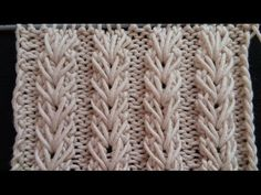 Pletenje - Bod - Pšenično klasje | Knitting tutorial - Wheat Ear Stitch - YouTube