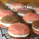 Neapolitan Cookie Sandwiches