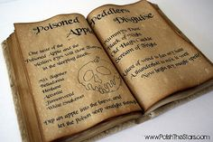 Make your own spell book