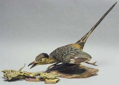 """Edward Marshall Boehm, Road Runner. Hallmark 493. Size H 14"""" W 20 1:2"""". Introduced in 1968:Completed in 1976"""