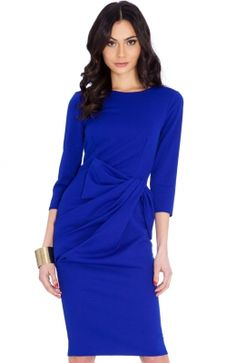Discover the latest trends and names-to-know in womenswear, menswear, beauty and home at Secret Sales. Dresses For Sale, Dresses For Work, Dress Sale, Secret Sale, Penelope Cruz, Royal Blue, Peplum Dress, Latest Trends, Celebrity Style