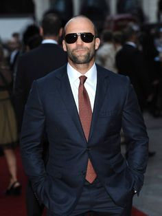 Jason Statham looks hot in this one!