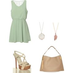 spring time <3, created by cristina-ballester on Polyvore