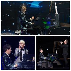 Such a fun night!! #BIGBANG #LangLang #MusicCollab #KPop #Classical #QQ #taeyang #seungri by langlangpiano