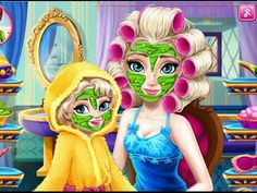 Elsa Mommy Real Makeover - Disney Frozen Makeover Games