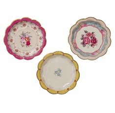 Truly Scrumptious Cake Plates - pretty disposable cake plates from My Baby Celebration - perfect for Afternoon Tea