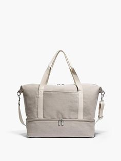 df870993fe The Catalina Deluxe - Washed Canvas - Dove Grey. Hospital Bag  ...