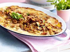 Unser beliebtes Rezept für Schlemmerschnitzel aus dem Ofen und mehr als 55.000 weitere kostenlose Rezepte auf LECKER.de.
