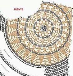 Crochet Art, Thread Crochet, Crochet Motif, Crochet Flowers, Crochet Stitches, Crochet Hooks, Crochet Square Patterns, Crochet Designs, Crochet Cardigan