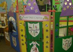 Fairytale castle role-play area classroom display photo - Photo gallery - SparkleBox