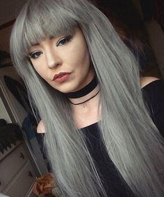 12 Bewitching Witch Hair Styles for Halloween 2019 Long Silver Hair, Long Gray Hair, Grey Hair, Hair Color 2018, Ombre Hair Color, Hair Color Balayage, Blonde Gif, Dark Blonde Hair, Witch Hair