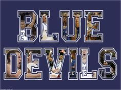 Even though they lost today in the ACC tourney, I still love my Blue Devils!!