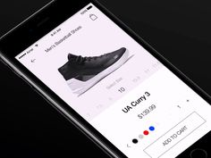 Shoe App Product Page - Revision by Saeid Taheri Product Page, Mobile Ui, Store Design, Ui Design, Ios, Display, Floor Space, Billboard, User Interface Design