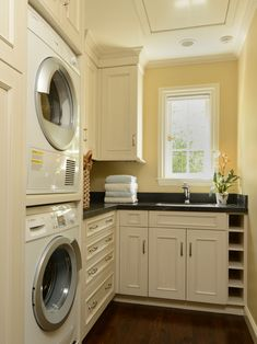 In Love With The Laundry Not Have The Stacked Appliances, Im Short :)  Craftsman Style Homes Design Ideas, Pictures, Remodel, And Decor   Page Room  Design ...