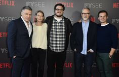 The #Mindhunter cast reunited at #NetflixFYSee, 1 June 2018.