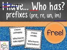 More Vocabulary Ideas to Whoot About I have. Prefixes (pre, re, un, im) Reading Intervention, Reading Skills, Teaching Reading, Reading Groups, Reading Activities, 2nd Grade Ela, 4th Grade Reading, Third Grade, Grammar Lessons