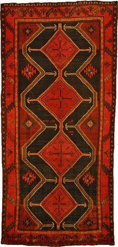 Koliaei Persian wool runner.