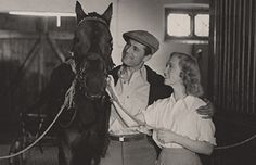 Poul Reichhardt in Danish cinema's biggest box office success ever, The Red Horses (De røde heste, 1950, Alice O'Fredericks and Jon Iversen).