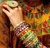 Infinite Colors.. Gota work Jewellery...India